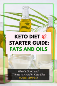 keto diet foods to eat fats and oils